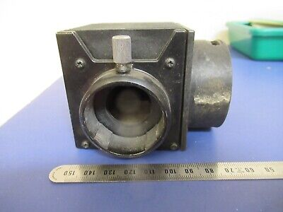 For Parts Microscope Part Empty Housing Olympus Lamp As Pictured 9-a-21