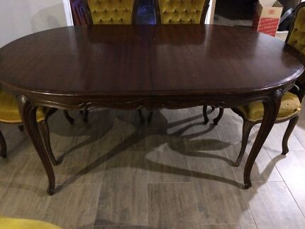 4 seater wooden table and chairsDining TablesGumtree