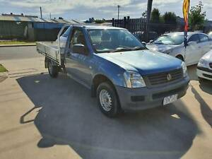 2004 Holden Rodeo DX Single Cab Tray Ute MANUAL VERY LOW KMS Williamstown North Hobsons Bay Area Preview