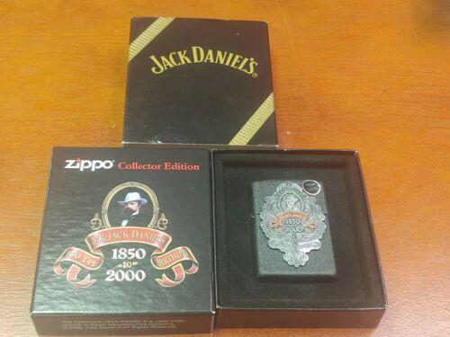 Zippo Mr. Jack Daniels 150th Birthday Anniversary1850-2000 Collector Lighter NEW