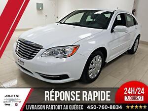 2012 Chrysler 200 LX, WOW AUBAINE, BAS KILO!!!