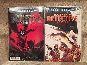 Detective Comics #935, #936 Variant covers (Rebirth)