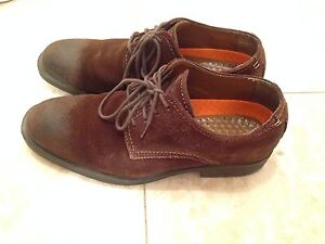 Hush Puppies - brown dress shoes
