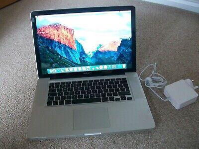 "Macbook Pro 15""  4GB RAM 250 HDD A1286"
