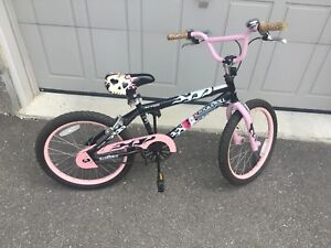 Avigo Girls BMX Bike With Matching Helmet