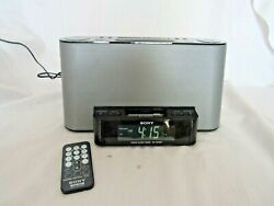 Sony Model ICF-CS10iP Dream Machine iPod and Early iPhone Docking/Remote