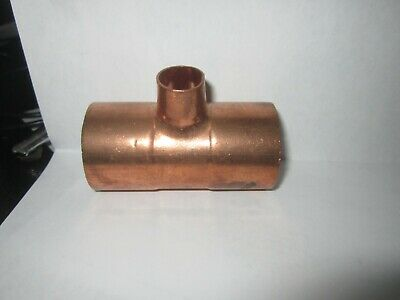 Nibco Copper Fitting Reducing Tee 1 14 X1 14 X 12 Brand New