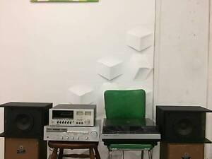 Yamaha Receiver R-3, Pioneer Cassette Deck & Bose Speakers Retro Marrickville Marrickville Area Preview