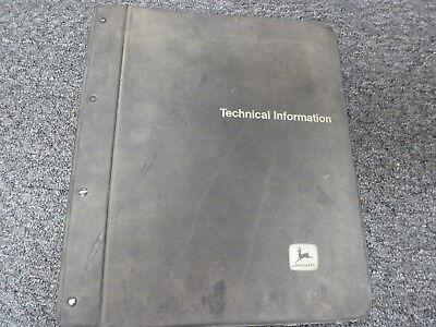 John Deere 410d 510d Backhoe Loader Operation Test Service Repair Manual Tm1512