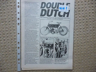 Eysink Dutch motorcycles-technical & historical literature-now 6 items!