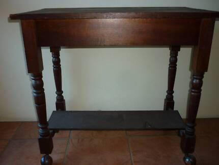 cheap hallway table. Old Coogans Side Table, Hall Table With Turned Legs And Casters Cheap Hallway