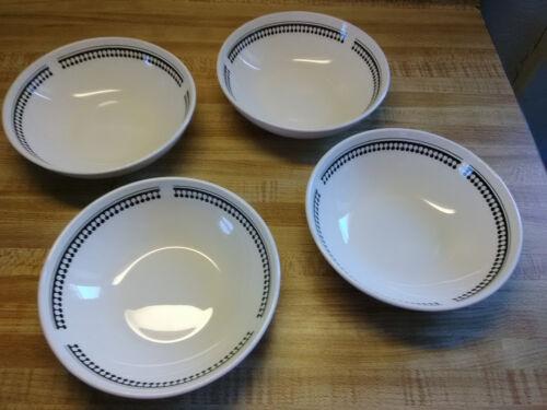 lot of 4 pyroceram bowls