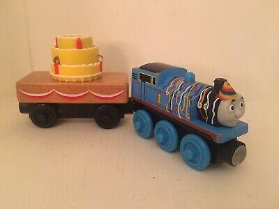 Thomas & Friends Wooden Railway Train Phillip Engine 2012 Fisher Price EUC!