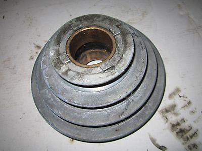 Atlas Metal Lathe 10 12 Headstock Spindle 4 Step Pulley 10-79 W Bushing 2