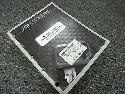 John Deere 770c 770ch 772ch Series Ii Motor Grader Service Repair Manual Tm1915