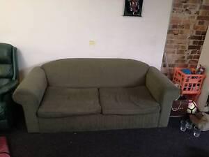 Green fold out sofa-bed Darlinghurst Inner Sydney Preview