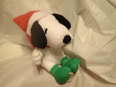 "Hallmark Skatin' Snoopy Peanuts Plush 8"" with Tag"