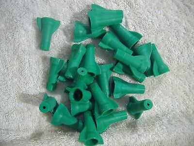 25 Gardner Bender Green Grounding Wire Connectors Twist Conical Connector Nuts
