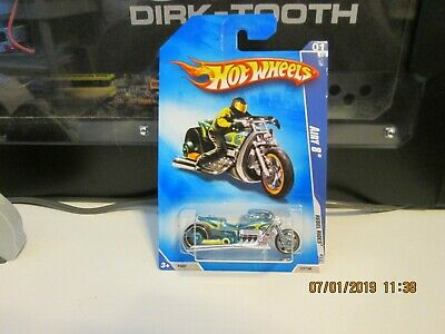 2009 HOT WHEELS REBEL RIDES AIRY 8 TEAL 137/190  (D)