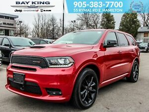 2018 Dodge Durango AWD, POWER LIFTGATE, SUNROOF, BLACK WHEELS, G