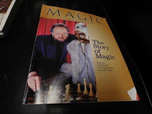 Magic Magazine For Magicians 1997 November Ricky Jay