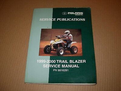 1999 - 2000 Polaris Trail Blazer ATV Service Manual , p/n 9916281