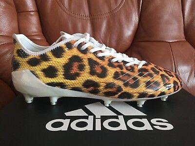 da7984d2b6eac Adidas Adizero 5 Star 6.0 Uncaged Men Sz 13 Football Cleats Gold Leopard  Cheetah
