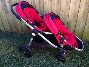Baby Jogger City Select Double Stroller + Second Seat + Bassinet Frenchs Forest Warringah Area Preview