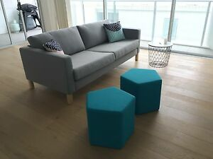 Pair of Freedom Ottomans Naremburn Willoughby Area Preview