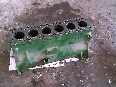 Oliver Super 77 Tractor Original 6 Cylinder Engine Motor Block