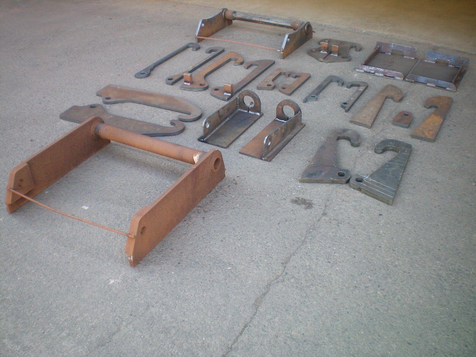 JCB Compact weld on brackets