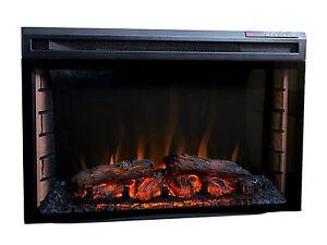 Elektrischer Kamin Kaminofen Kaminfeuer Elektrokamin LED Flammen Heizung 1-2 KW