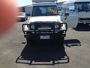 1994 Toyota LandCruiser  Troupcarrier 3 Seat Warragul Baw Baw Area Preview