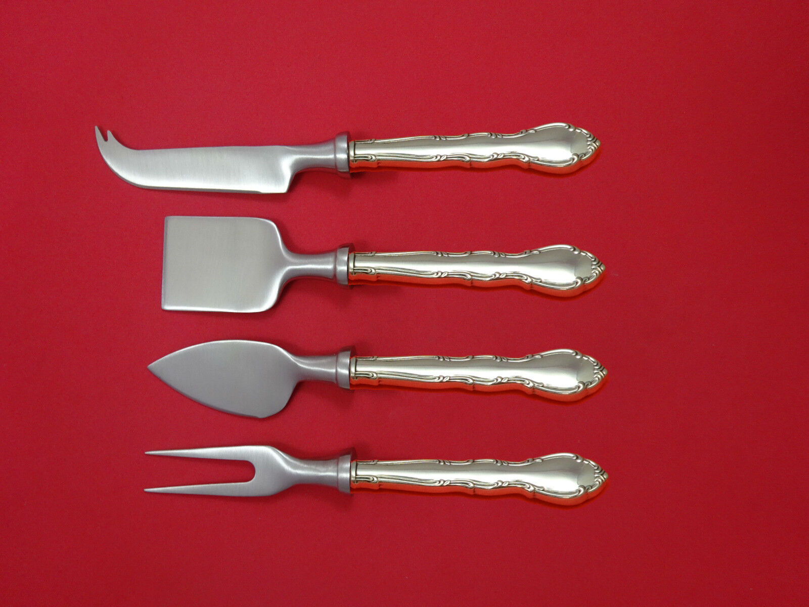 King Edward by Gorham Sterling Silver Cheese Server Serving Set 2pc HHWS  Custom