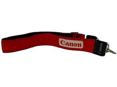 Camera Strap Canon Vintage 35mm Retro Red Blue Neck Shoulder Carry Adjustable