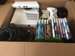 Complete Xbox 360 with Kinect, Controllers and Games