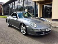 Porsche 911 3.8 Carrera S 1 OWNER 29000 MILES FDSH manual sport chrono
