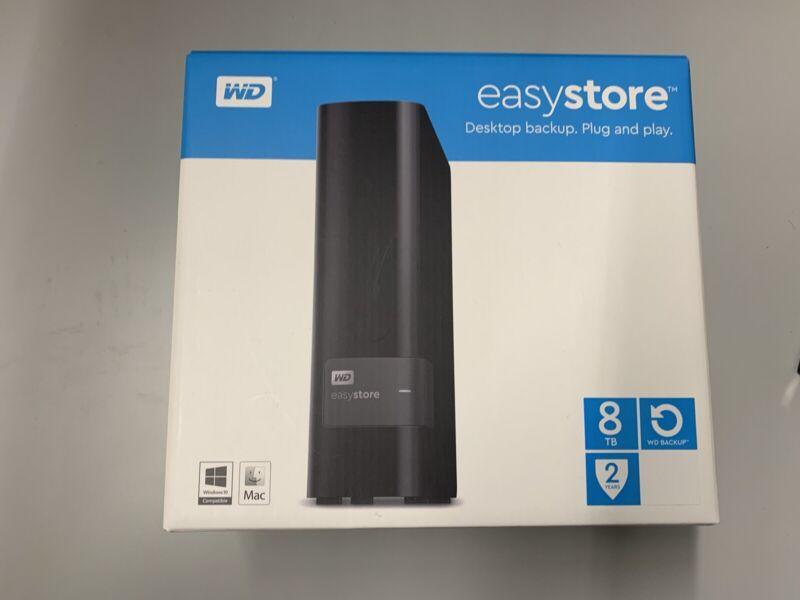 """WD Easystore Desktop 3.5"""" USB 3.0 Enclosure External SATA Hard Drive Case"""