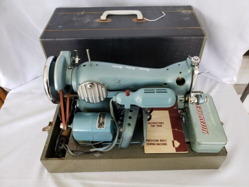 Vintage Belevedere Sewing machines w/case acccesories and more
