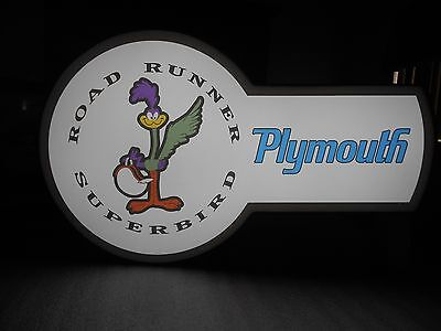 Plymouth Superbird Lighted Sign