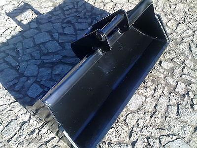 Grabenräumlöffel 80cm Löffel Minibagger starr MS01 NEU
