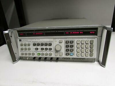 Agilent Hp 8340b Synthesized Signal Generator 10 Mhz - 26.5 Ghz Opt 005 006