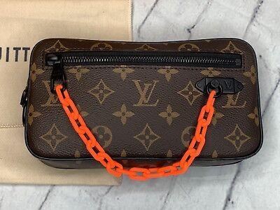 211d9fead406a Louis Vuitton Virgil Abloh Monogram Pochette! Brand New! Authentic!