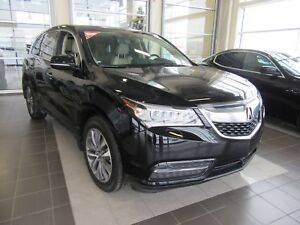 2016 Acura MDX Navigation Package 9 SPEED AUTO, POWER LIFTGAT...