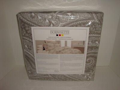 Dormisette Wulfing Luxury Flannel Paisley Queen Duvet Cover + Standard Shams