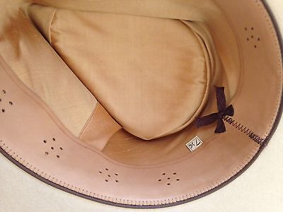 Cut & Sewn Vented Roan Leather Fedora Hat Replacement Sweatband. Assorted Colors