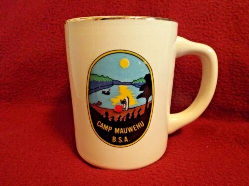 CAMP MAUWEHU SHERMAN, CONNECTICUT - Boy Scouts of America Coffee Mug Cup