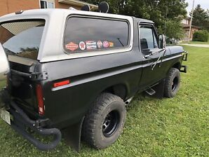 1978 FORD BRONCO ALMOST EVERYTHING NEW.