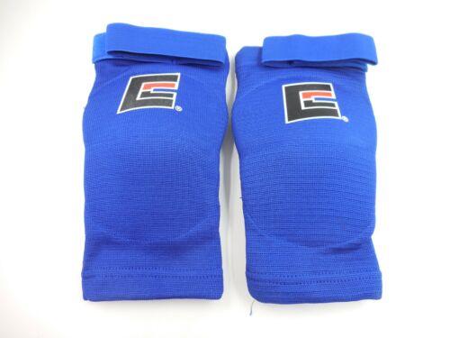 Combat Corner CRNR Muay Thai Elbow Pads | Blue Size S/M