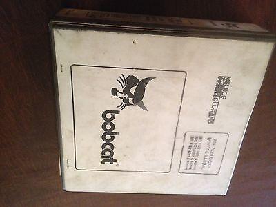 Bobcat Skid Steer Skidsteer Loader 763 763h Bics Service Manual Melroe Ir